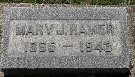 HAMER, MARY J. - Erie County, Ohio | MARY J. HAMER - Ohio Gravestone Photos
