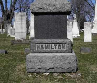 HAMILTON, FAMILY - Erie County, Ohio | FAMILY HAMILTON - Ohio Gravestone Photos