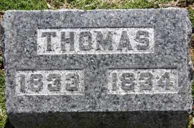 HAMILTON, THOMAS - Erie County, Ohio | THOMAS HAMILTON - Ohio Gravestone Photos