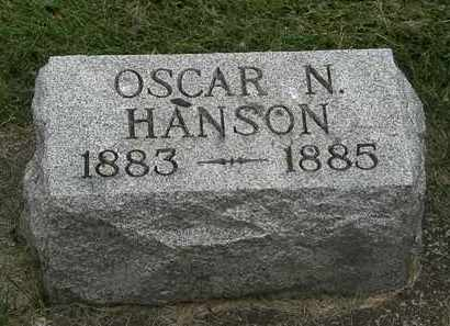 HANSON, OSCAR N. - Erie County, Ohio | OSCAR N. HANSON - Ohio Gravestone Photos