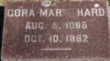 HARD, CORA MARIE - Erie County, Ohio | CORA MARIE HARD - Ohio Gravestone Photos