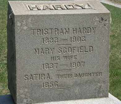 HARDY, SATIRA - Erie County, Ohio | SATIRA HARDY - Ohio Gravestone Photos
