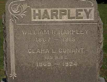 HARPLEY, WILLIAM R. - Erie County, Ohio | WILLIAM R. HARPLEY - Ohio Gravestone Photos