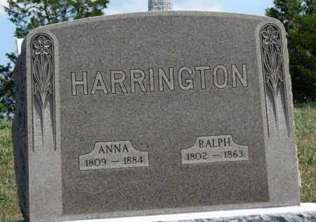 HARRINGTON, ANNA - Erie County, Ohio | ANNA HARRINGTON - Ohio Gravestone Photos