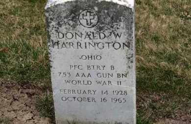 HARRINGTON, DONALD W. - Erie County, Ohio | DONALD W. HARRINGTON - Ohio Gravestone Photos