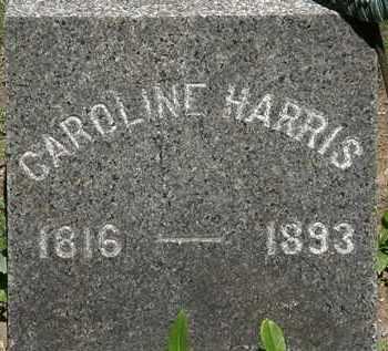 HARRIS, CAROLINE - Erie County, Ohio | CAROLINE HARRIS - Ohio Gravestone Photos