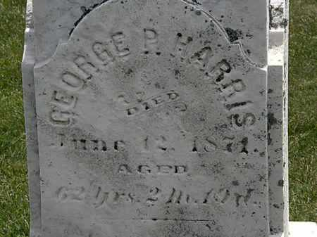 HARRIS, GEORGE P. - Erie County, Ohio   GEORGE P. HARRIS - Ohio Gravestone Photos