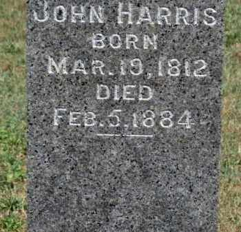 HARRIS, JOHN - Erie County, Ohio | JOHN HARRIS - Ohio Gravestone Photos