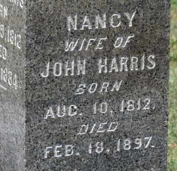 HARRIS, NANCY - Erie County, Ohio | NANCY HARRIS - Ohio Gravestone Photos