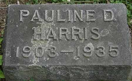 DECKER HARRIS, PAULINE - Erie County, Ohio | PAULINE DECKER HARRIS - Ohio Gravestone Photos