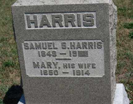 HARRIS, SAMUEL - Erie County, Ohio | SAMUEL HARRIS - Ohio Gravestone Photos