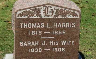 HARRIS, THOMAS L. - Erie County, Ohio | THOMAS L. HARRIS - Ohio Gravestone Photos