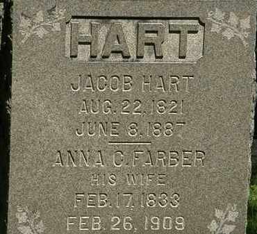 HART, JACOB - Erie County, Ohio | JACOB HART - Ohio Gravestone Photos