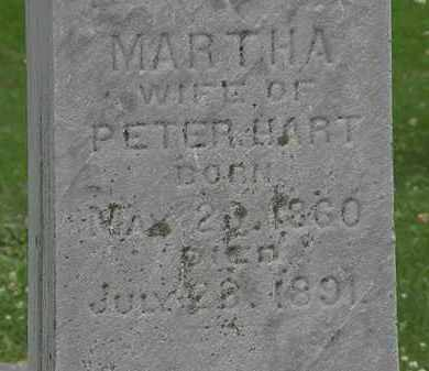 HART, MARTHA - Erie County, Ohio | MARTHA HART - Ohio Gravestone Photos