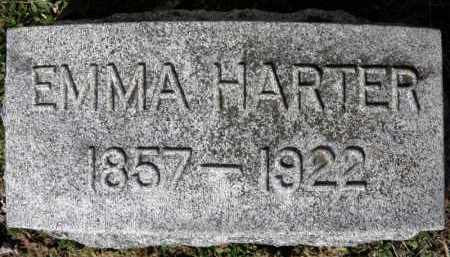 HARTER, EMMA - Erie County, Ohio | EMMA HARTER - Ohio Gravestone Photos