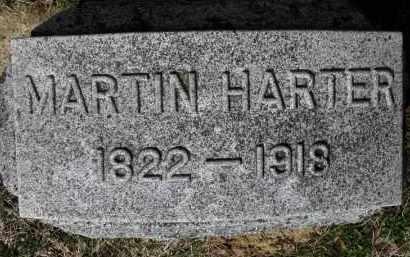 HARTER, MARTIN - Erie County, Ohio   MARTIN HARTER - Ohio Gravestone Photos