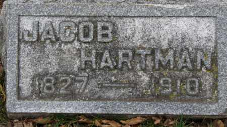 HARTMAN, JACOB - Erie County, Ohio | JACOB HARTMAN - Ohio Gravestone Photos