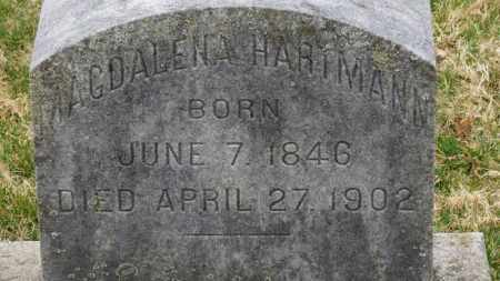 HARTMANN, MAGDALENA - Erie County, Ohio | MAGDALENA HARTMANN - Ohio Gravestone Photos