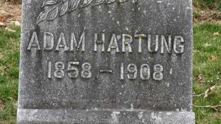HARTUNG, ADAM - Erie County, Ohio | ADAM HARTUNG - Ohio Gravestone Photos