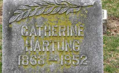 HARTUNG, CATHERINE - Erie County, Ohio | CATHERINE HARTUNG - Ohio Gravestone Photos