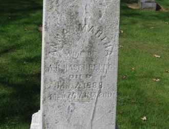 HASENPFLUG, ANNA MARTHA - Erie County, Ohio   ANNA MARTHA HASENPFLUG - Ohio Gravestone Photos