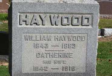 HAYWOOD, WILLIAM - Erie County, Ohio | WILLIAM HAYWOOD - Ohio Gravestone Photos