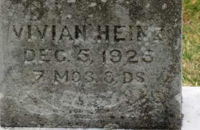 HEINZ, VIVIAN - Erie County, Ohio | VIVIAN HEINZ - Ohio Gravestone Photos