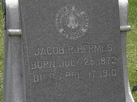 HERMES, JACOB P. - Erie County, Ohio | JACOB P. HERMES - Ohio Gravestone Photos