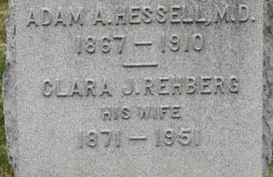 REHBERG HESSELL, CLARA J. - Erie County, Ohio | CLARA J. REHBERG HESSELL - Ohio Gravestone Photos