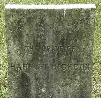 HICKCOX, HARRIET - Erie County, Ohio | HARRIET HICKCOX - Ohio Gravestone Photos
