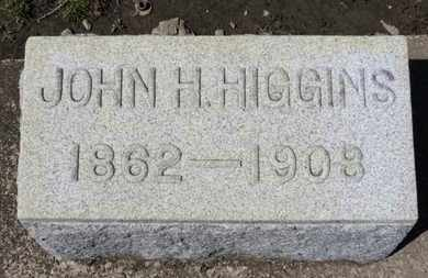 HIGGINS, JOHN H. - Erie County, Ohio | JOHN H. HIGGINS - Ohio Gravestone Photos