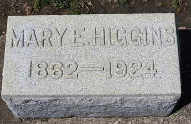 HIGGINS, MARY E. - Erie County, Ohio | MARY E. HIGGINS - Ohio Gravestone Photos