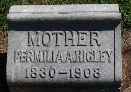 HIGLEY, PERMILLA A. - Erie County, Ohio | PERMILLA A. HIGLEY - Ohio Gravestone Photos