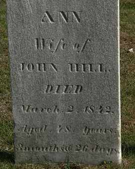 HILL, JOHN - Erie County, Ohio | JOHN HILL - Ohio Gravestone Photos