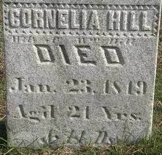 HILL, CORNELIA - Erie County, Ohio | CORNELIA HILL - Ohio Gravestone Photos