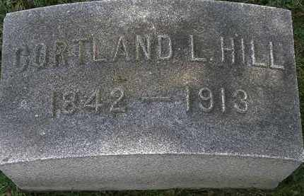 HILL, CORTLAND - Erie County, Ohio | CORTLAND HILL - Ohio Gravestone Photos