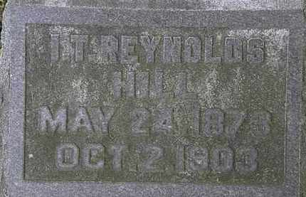 HILL, I.T. REYNOLDS - Erie County, Ohio | I.T. REYNOLDS HILL - Ohio Gravestone Photos