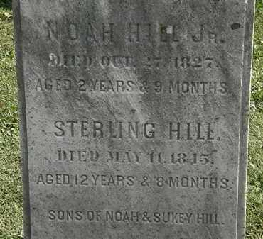 HILL JR., NOAH - Erie County, Ohio | NOAH HILL JR. - Ohio Gravestone Photos