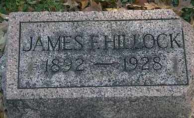 HILLOCK, JAMES F. - Erie County, Ohio | JAMES F. HILLOCK - Ohio Gravestone Photos
