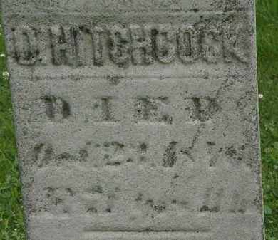 HITCHCOCK, D. - Erie County, Ohio | D. HITCHCOCK - Ohio Gravestone Photos