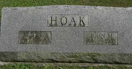 HOAK, JOHN M. - Erie County, Ohio | JOHN M. HOAK - Ohio Gravestone Photos