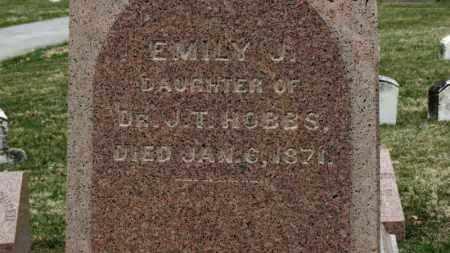 HOBBS, EMILY J. - Erie County, Ohio | EMILY J. HOBBS - Ohio Gravestone Photos