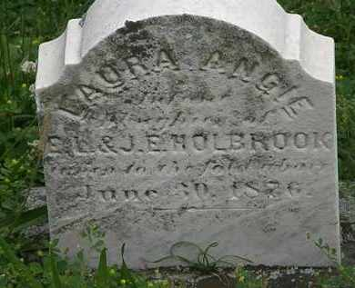 HOLBROOK, LAURA ANGIE - Erie County, Ohio | LAURA ANGIE HOLBROOK - Ohio Gravestone Photos
