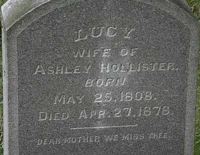 HOLLISTER, LUCY - Erie County, Ohio | LUCY HOLLISTER - Ohio Gravestone Photos