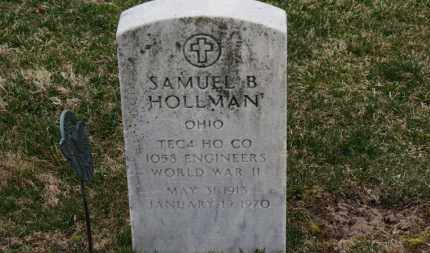HOLLMAN, SAMUEL B. - Erie County, Ohio | SAMUEL B. HOLLMAN - Ohio Gravestone Photos