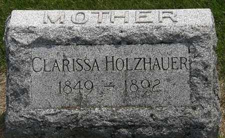 HOLZHAUER, CLARISSA - Erie County, Ohio | CLARISSA HOLZHAUER - Ohio Gravestone Photos