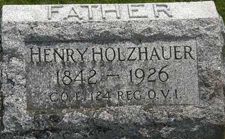 HOLZHAUER, HENRY - Erie County, Ohio | HENRY HOLZHAUER - Ohio Gravestone Photos