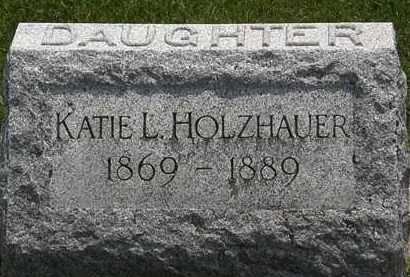 HOLZHAUER, KATIE L. - Erie County, Ohio | KATIE L. HOLZHAUER - Ohio Gravestone Photos