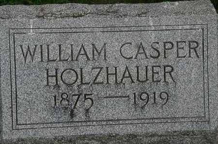 HOLZHAUER, WILLIAM CASPER - Erie County, Ohio | WILLIAM CASPER HOLZHAUER - Ohio Gravestone Photos