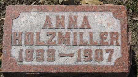 HOLZMILLER, ANNA - Erie County, Ohio | ANNA HOLZMILLER - Ohio Gravestone Photos